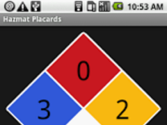 Hazmat Placards 1.1 Screenshot