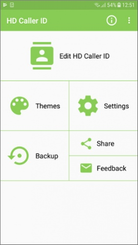 Full-Screen Caller ID