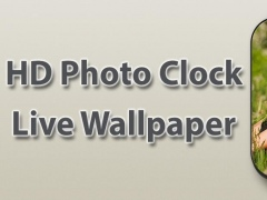 HD Photo Clock Live Wallpaper 1.1 Screenshot