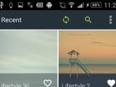 HD Wallpaper App Demo 3.1 Screenshot