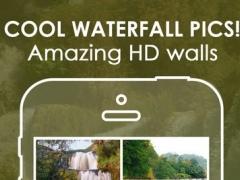 HD Waterfalls Around the World - Awesome Waterfall backgrounds 4.2 Screenshot