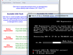 HDD Regenerator 2011 Screenshot