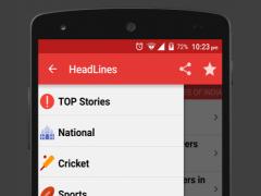 HeadLines Indian News App 1.0.0.2 Screenshot