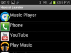 Headset (Earphone) Launcher 3.2 Screenshot