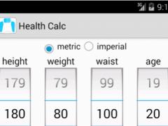 Health Calc 3.2.1 Screenshot