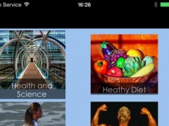 Health Reader-- RSS The latest Health News , Health & fitness information 1.0 Screenshot