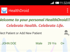 HealthDroid 1.0 Screenshot
