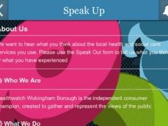 Healthwatch Wokingham Borough 1.0 Screenshot