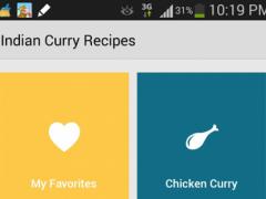 Healthy Curry Recipes 1.0 Screenshot