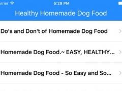 Healthy Homemade Dog Food 1.0 Screenshot