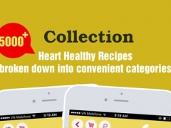 Heart Healthy Recipes Pro ~ Best Food For Heart 1.0 Screenshot