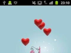 Hearts Live Wallpaper HD 1.1 Screenshot