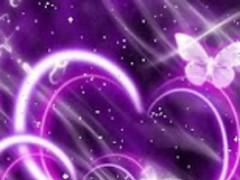 Hearts Purple Live Wallpaper 1.3 Screenshot