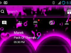 Hearts Theme for GO SMS Pro 3.0 Screenshot