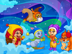 Hedgehog's Adventures 3 for Parents and Kids Free 1.2.2 Screenshot