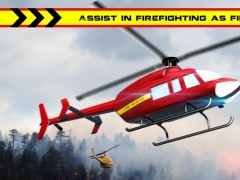 Heli Rescue Fire Fighter 1.0 Screenshot