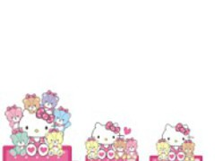 HELLO KITTY Battery Widget1 1.0.1 Screenshot