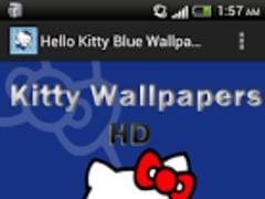 Hello Kitty Blue Wallpapers 1.0 Screenshot