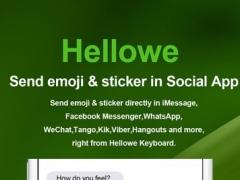 Hellowe keyboard 1.5 Screenshot