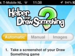 Helper for Draw Something - The easiest instant aid to solve your DrawSomething game! 1.0.2 Screenshot