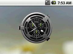 Hero Clock 5 Widget 2x2 1.0 Screenshot
