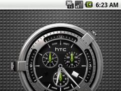 Hero Clock 5 Widget 4x3 1.0 Screenshot