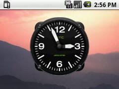 Hero Clock 6 Widget 2x2 1.0 Screenshot