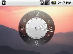 Hero Day Clock Widget 2x2 1.2 Screenshot