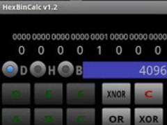 HexBinCalc hex bin converter 1.5 Screenshot