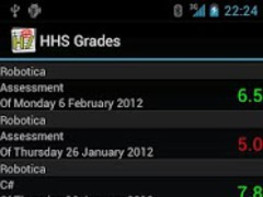 HHS Grades 1.3 Screenshot