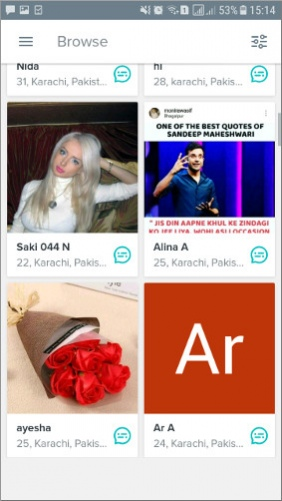 online dating chat Karachi uwo servizio di incontri