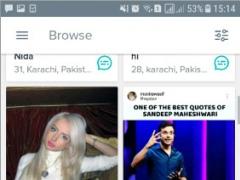 Review Screenshot - An Entertaining Dating App