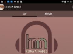 Hidaya Radio 1.0 Screenshot