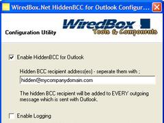 HiddenBCC for Outlook 1.1.68 Screenshot