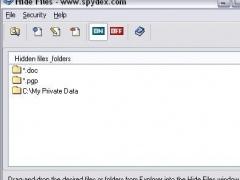 Hide Files 3.4 Screenshot