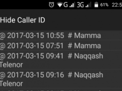 Review Screenshot - Hide Caller ID in a Simple and Easy Manner