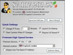 Hide My IP 5.3.0.17648 Screenshot