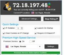 Hide My IP 6.0.450 Screenshot