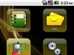 HIDE SMS & Call logs 1.2 Screenshot