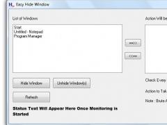 Hide Window 1.0 Screenshot