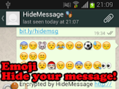 HideMessage for WhatsApp 1.2 Screenshot