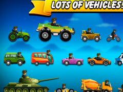 High Hill Climb Racing Car. 1.0 Screenshot