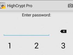 HighCrypt Password Manager 2.4 Screenshot