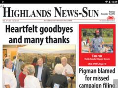 Highlands News-Sun 2.8.20 Screenshot