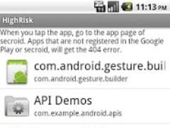 HighRisk 1.4.0 Screenshot