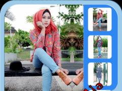 Hijab Jeans Fashion Beauty 1.8 Screenshot