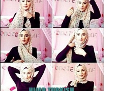 Hijab Turkish Style Tutorial 1.0 Screenshot