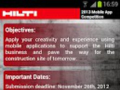 Hilti Mobile App Competition 1.1 Screenshot