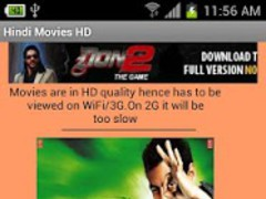 Hindi Movies HD 1.16 Screenshot