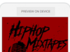 Hiphop mixtapes 0.1.6 Screenshot